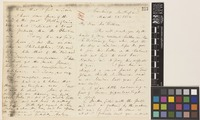 Letter from Asa Gray to Sir William Jackson Hooker; from Cambridge, [Massachusetts, United States of America]; 28 Mar 1854; four page letter comprising two images; folio 181