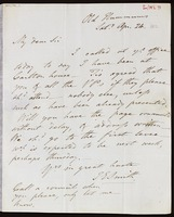 James Edward Smith, Old Hummums, [Covent Garden, London], to Alexander Macleay, Transport Office, [London]