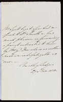 Charles Lyell, Bartley Lodge, [Lyndhurst, Hampshire], to James Edward Smith, Norwich, [Norfolk]